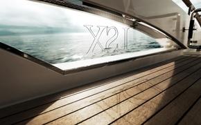 Wallpaper yacht, window, deck
