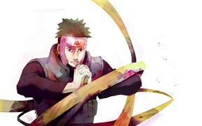 Picture white background, naruto, Yamato, wood machinery