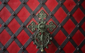 Picture metal, texture, gate, handle