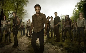Wallpaper The walking dead, Norman Reedus, Carl Grimes, Andrew Lincoln, Andrea, Chandler Riggs, Chandler Riggs, Andrew ...