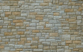 Picture stones, wall, Wallpaper, masonry, the volume, relief