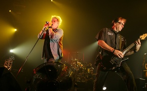 Picture Dexter Holland, The Offspring, Pete Stop, punk rock