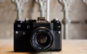Picture background, camera, Zenit