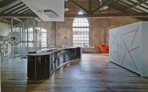 Picture style, interior, loft, living space