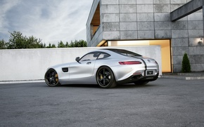 Picture Mercedes-Benz, AMG, Wheelsandmore, Silver, Rear, Tuned, 600HP