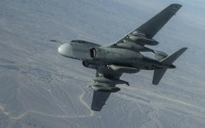 Picture the plane, Grumman, Prowler, deck, EA-6B