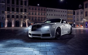 Wallpaper background, Rolls-Royce, rolls-Royce, Wraith, Wright, Spofec