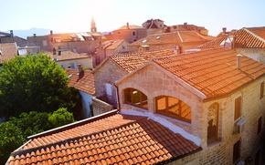 Picture the city, Windows, beauty, roof, montenegro, Budva