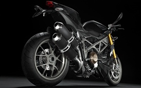 Picture motorcycle, chrome, ducati