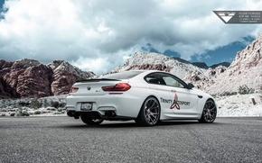 Picture BMW, Vorsteiner, Style, White, Tuning, Aero, BMW M6, 2015, BMW Cars, BMW Tuning, 2015 Vorsteiner …
