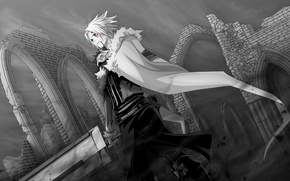 Picture Sword, Anime, All Walker, Joker God, Crowned clown, D.gray-man