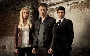 Picture actress, actor, Elijah, Rebecca, Claire Holt, Joseph Morgan, Klaus, Joseph Morgan, Klaus, Daniel Gillies, Elijah, …