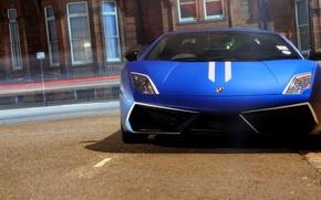Picture city, the city, supercar, cars, auto, supercars, wallpapers auto, Wallpaper HD, Lamborghini Gallardo