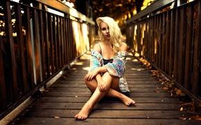 Picture bridge, legs, Denise, Miro Hofmann