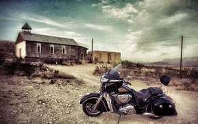 Picture background, motorcycle, bike, legend, The leader, Indian Chieftain