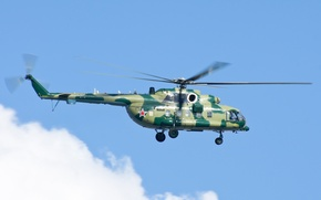 Picture the sky, flight, helicopter, multipurpose, Mi-8/17