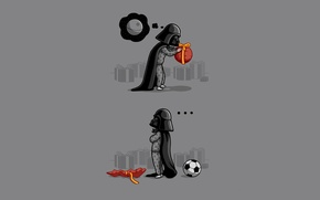 Picture Star Wars, gifts, Darth Vader, disappointment