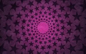 Wallpaper sudochki, texture, circles, star, stars, pink
