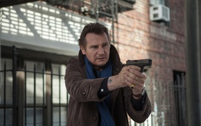 Picture Liam Neeson, A walk among the tombstones, People are afraid of the wrong, what is …