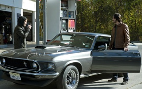 Picture car, the film, car, auto, Keanu Reeves, movie, film, Keanu Reeves, Ford Mustang, John Wick, …