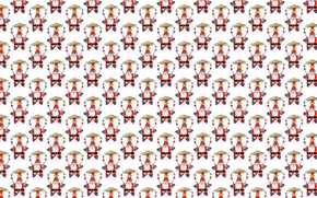 Picture background, holiday, star, texture, New year, Santa Claus, Santa Claus
