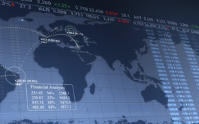 Picture market, trading, forex