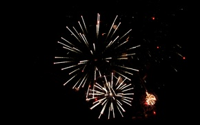 Picture holiday, new year, salute, fireworks, 2016, new year 2016