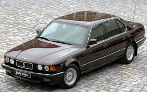 Picture BMW, 750iL, 1987_Armored, Security_E32_luxury