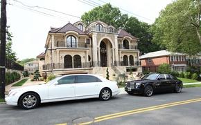 Picture Rolls-Royce, Maybach, cars, Landaulet, Phantom.