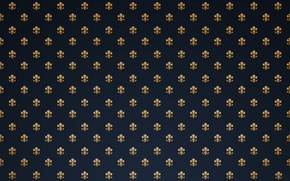 Wallpaper Wallpaper, pattern, Lily, heraldic