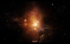 Picture stars, nebula, art, space