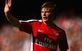 Wallpaper football, Arsenal, Arshavin