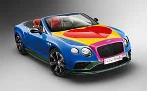 Picture background, Bentley, Continental, convertible, Bentley, continental, Convertible