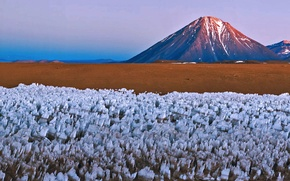 Picture mountains, nature, the volcano, Chile, Bolivia, Surrounded by