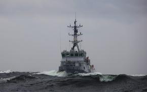 Picture sea, wave, basic, minesweeper, Alatau