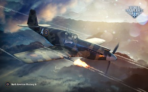 Picture fighter, North American, World of Warplanes, WoWp, Wargaming, Mustang IA