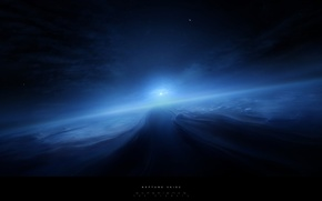 Picture space, solar system, Neptune
