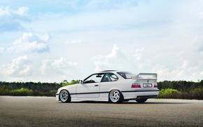 Picture car, BMW, coupe, white, bmw m3, rechange