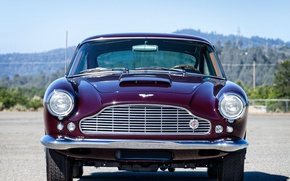 Picture Aston Martin, lights, grille, the front, Aston Martin, DB4
