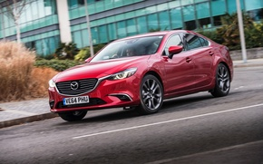 Picture Mazda 6, Mazda, Sedan, UK-spec, 2015