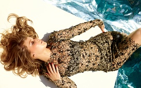 Picture girl, dress, actress, lies, Jennifer Lawrence, Jennifer Lawrence