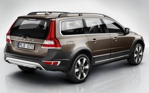 Picture volvo, xc70, Volvo, back
