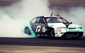 Picture Nissan, Desktop, Skid, Drift, Silvia, Nissan, Drift, Car, Car, Beautiful, Long Beach, Wallpapers, S14, Wallpaper, …