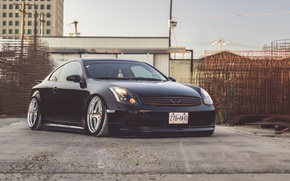 Picture Infiniti, Black, Coupe, G35