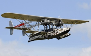 Picture the sky, flight, twin-engine, amphibian, Sikorsky S-38B