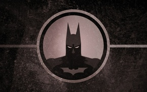 Picture logo, Batman, eyes