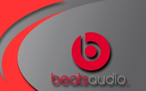 Picture red, music, grey, logo, music, headphones, speakers, logo, htc, beats by dr.dre, beats, dr.dre, beats, …