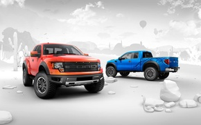 Picture wallpaper, ford, raptor