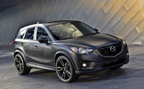 Wallpaper Mazda, Mazda, crossover, CX-5