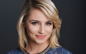 Picture smile, background, model, portrait, actress, hairstyle, blonde, photographer, Dianna Agron, Variety, Dianna Agron, Andrew H …